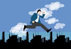 скача небо бесплатная иллюстрация
