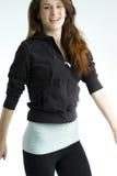 скача обмундирование резвится предназначенная для подростков женщина Стоковые Фото