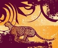скача пантера Стоковые Фото