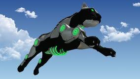 Скача перевод пантеры 3D научной фантастики машины бесплатная иллюстрация