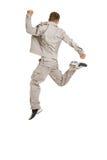 скача детеныши человека Стоковое Изображение RF