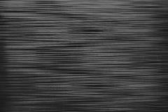 Скачками предпосылка горизонтальных прямых Черно-белая пластичная текстура Стоковое Изображение