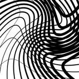 Скачками решетка, картина картины сетки геометрическая минимальная с искривлением Стоковое Фото