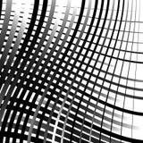 Скачками решетка, картина картины сетки геометрическая минимальная с искривлением Стоковые Изображения