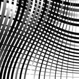 Скачками решетка, картина картины сетки геометрическая минимальная с искривлением иллюстрация штока