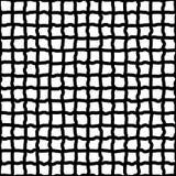 Скачками решетка, нарисованная сетка руки, схематичные линии Стоковое Изображение RF