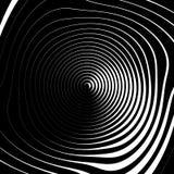 Скачками спиральная предпосылка в квадратном формате абстрактное геометрическое Стоковая Фотография RF