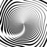 Скачками спиральная предпосылка в квадратном формате абстрактное геометрическое Стоковые Изображения