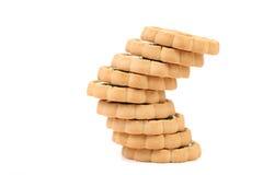 Скачками стог печенья. Стоковое Изображение RF