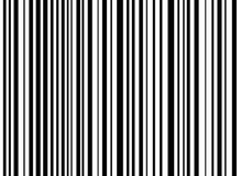 Скачками stripes белизна предпосылки черная Стоковое Изображение