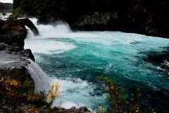 Скачки Petrohue стоковое изображение