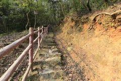 Скачком лестницы горы tianzhu Стоковые Фотографии RF