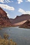 скачком река colorado свободного полета стоковые изображения rf