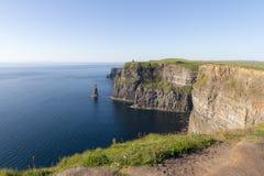 Скала взгляда Moher - Ирландия Стоковое фото RF