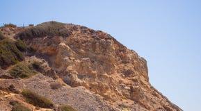 Скала 02 горы скалистая Стоковое Изображение