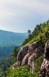 Скала горы утеса Стоковые Изображения