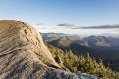 Скала горы Gothics в Adirondacks Стоковые Фото