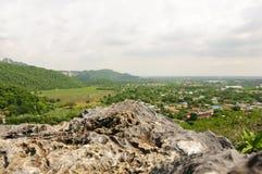 Скала и ландшафт Стоковые Изображения RF
