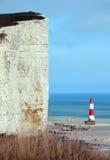 Скала и маяк Стоковое Фото