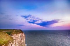 Скала на восходе солнца Стоковые Изображения