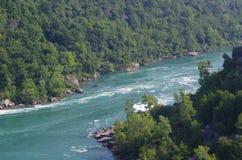 Скала Ниагарского Водопада скалистая Стоковая Фотография RF