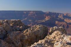 Скала утеса на гранд-каньоне Стоковое Изображение RF