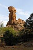Скала Bandiagara, Мали, Африки Стоковое Изображение