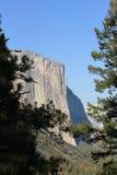 Скала El Capitan на национальном парке Yosemite в августе Стоковое Изображение