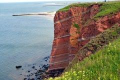 Скала Helgoland стоковая фотография
