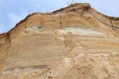 Скала Sandy Стоковое Изображение