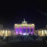 Скалистая вершина Германия Берлина Brandenburger стоковое изображение