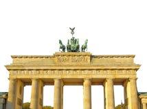 Скалистая вершина Brandenburger, Берлин стоковая фотография rf