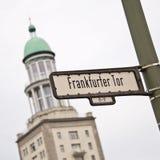 Скалистая вершина Frankfurter Стоковые Изображения