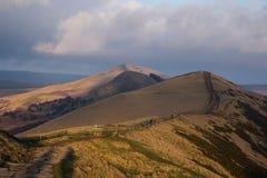 Скалистая вершина Mam, пиковый район Стоковое Фото