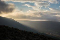 Скалистая вершина Mam, пиковый район Стоковые Фотографии RF