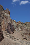 Скалистая зига риолита Стоковые Фото