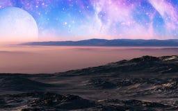 Скалистая пустыня Стоковая Фотография RF