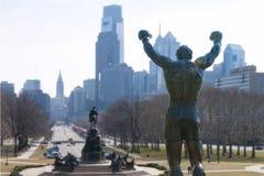 Скалистая статуя Стоковое Изображение RF