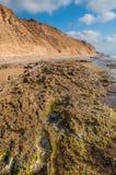 Скалистое морское побережье стоковые фотографии rf