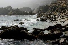 Скалистое побережье Стоковое Изображение