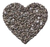 Скалистое сердце Стоковые Изображения RF