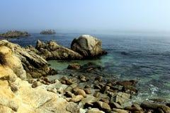 Скалистое Тихий Океан Стоковое Изображение RF