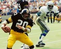 Скалистое Bleier Питтсбург Steelers стоковые изображения rf