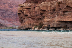 Скалистые берега Колорадо стоковые фото