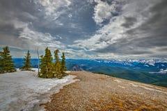 Скалистые горные виды Стоковое Фото