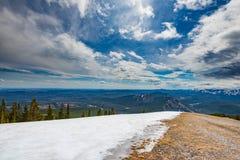 Скалистые горные виды Стоковое Изображение