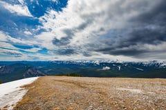 Скалистые горные виды Стоковое фото RF