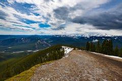 Скалистые горные виды Стоковые Изображения RF