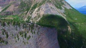 Скалистые горы Канада Альберта видеоматериал