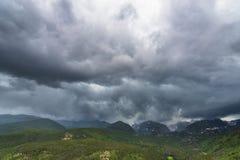 Скалистые горы Колорадо Стоковая Фотография RF